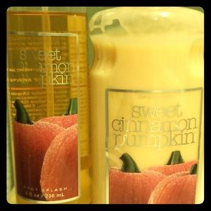 Sweet Cinnamon Pumpkin Lotion & Spray